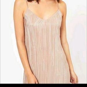 Shimmering slip dress sz 8